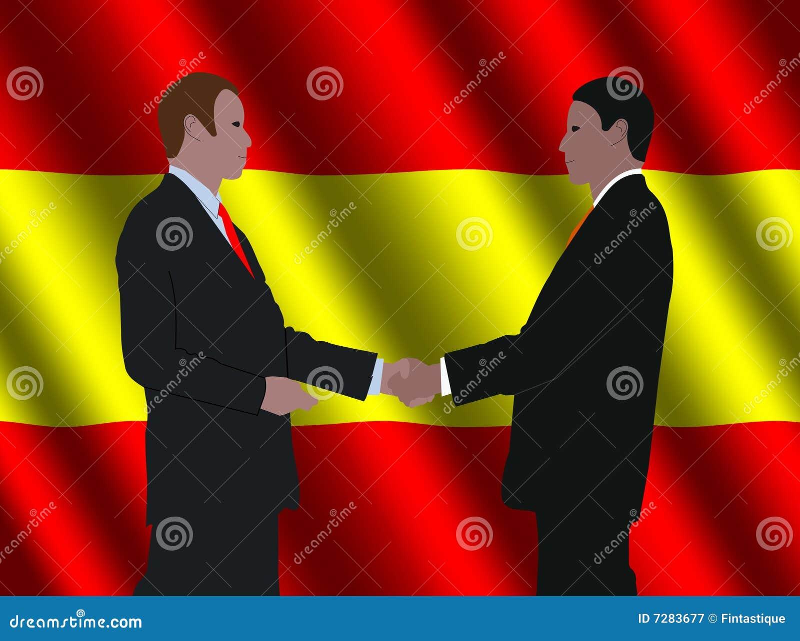 Encuentro español de los hombres de negocios