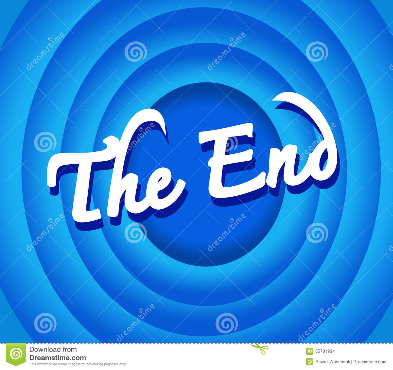 the end movie stock images image 35781934 Popcorn Clip Art Movie Theater Screen Size