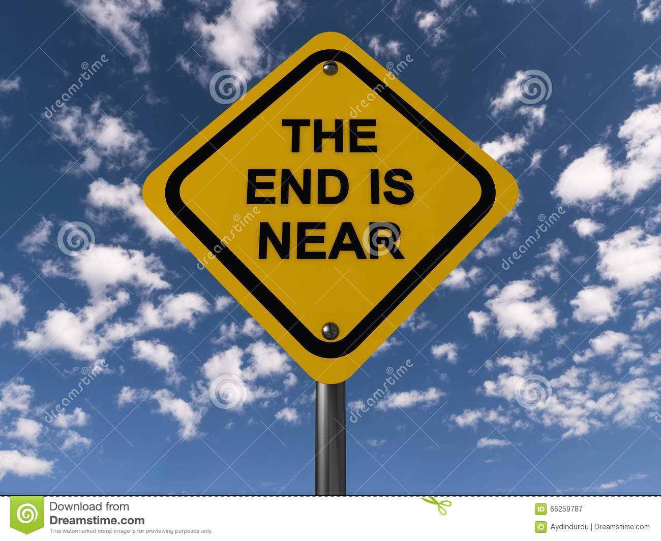 the end is near stock image image of highway black 66259787