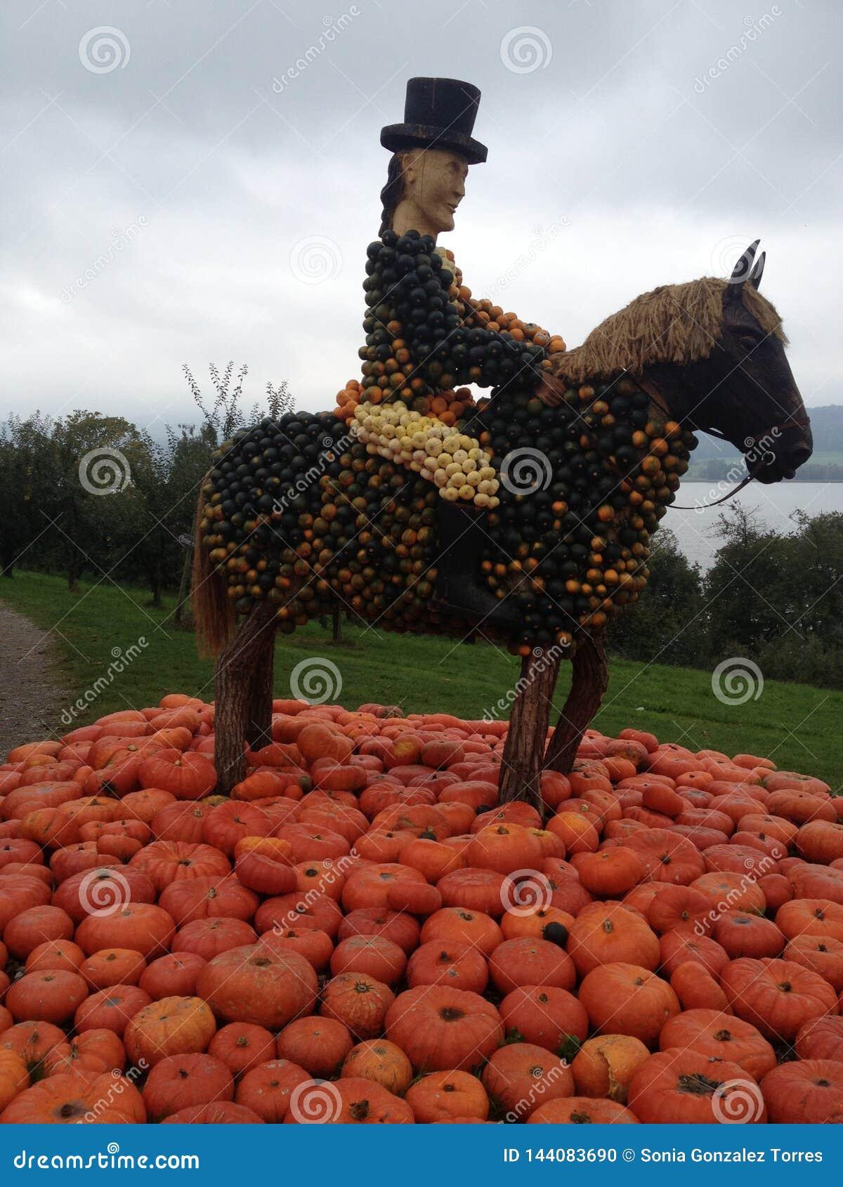 Sports Pumpkin Art