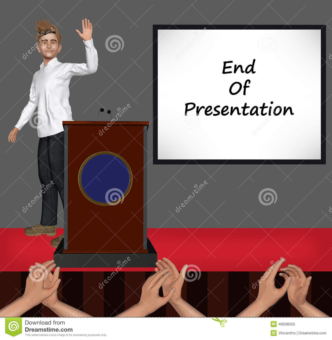 How to End a Business Presentation Letter