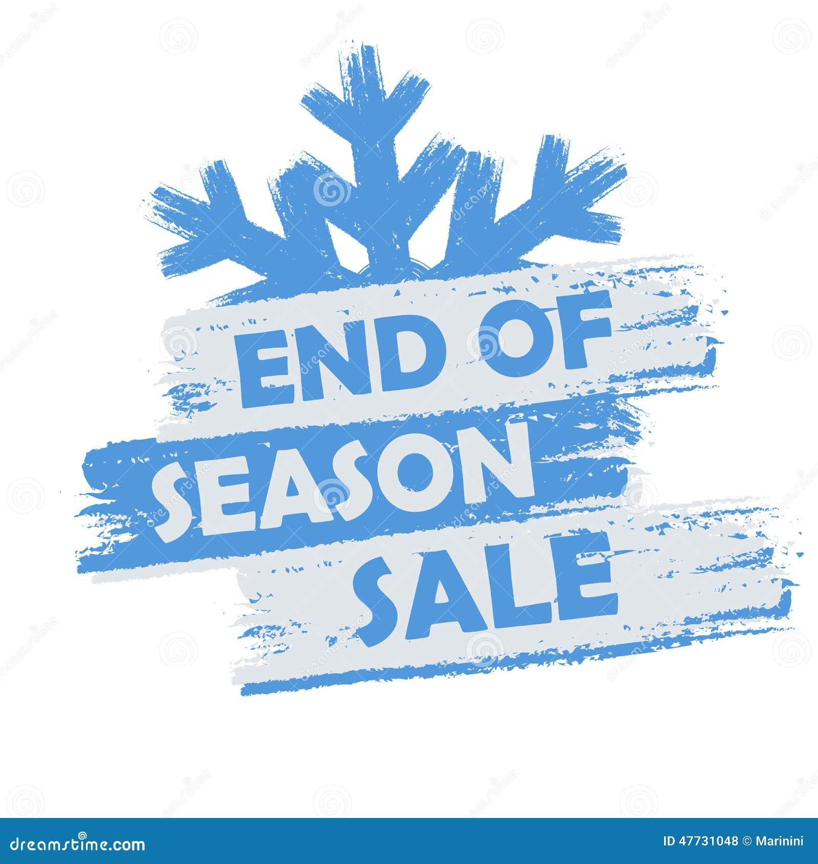 7e2db6f7b79 End of season sale stock illustration. Illustration of liquidation ...