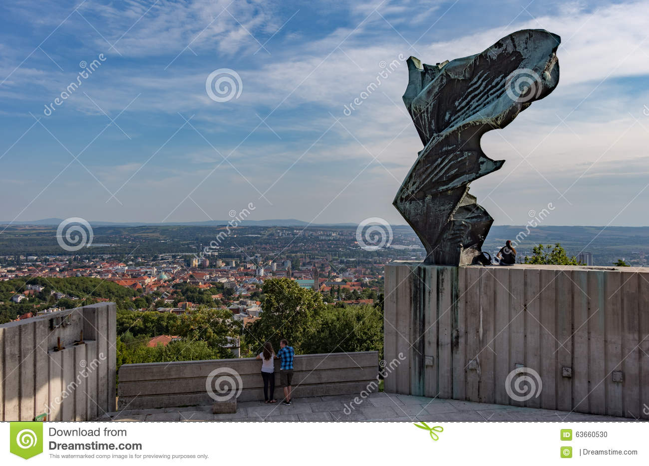Ajustable Playa antecedentes  End Of Summer - Nike Statue, Pécs, Hungary Editorial Image - Image of  pacopy, mountains: 63660530