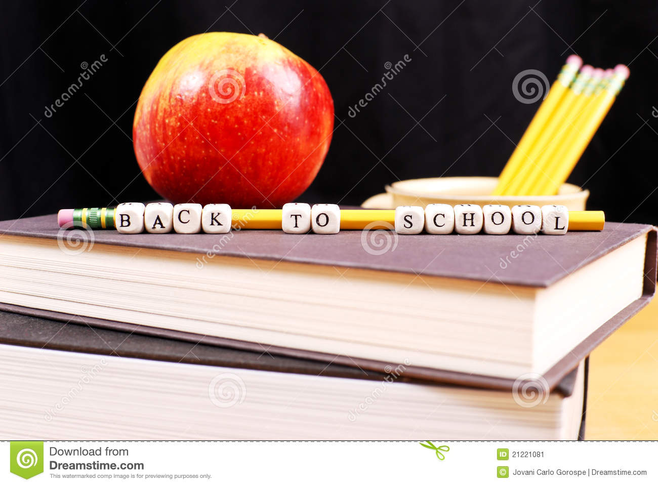 End Of Summer Vacation Stock Image - Image: 21221081