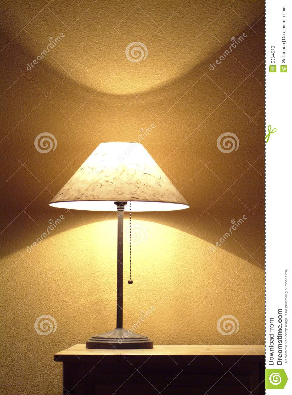 End table lamp stock photo image of yellow reading shade 5564378 end table lamp aloadofball Images