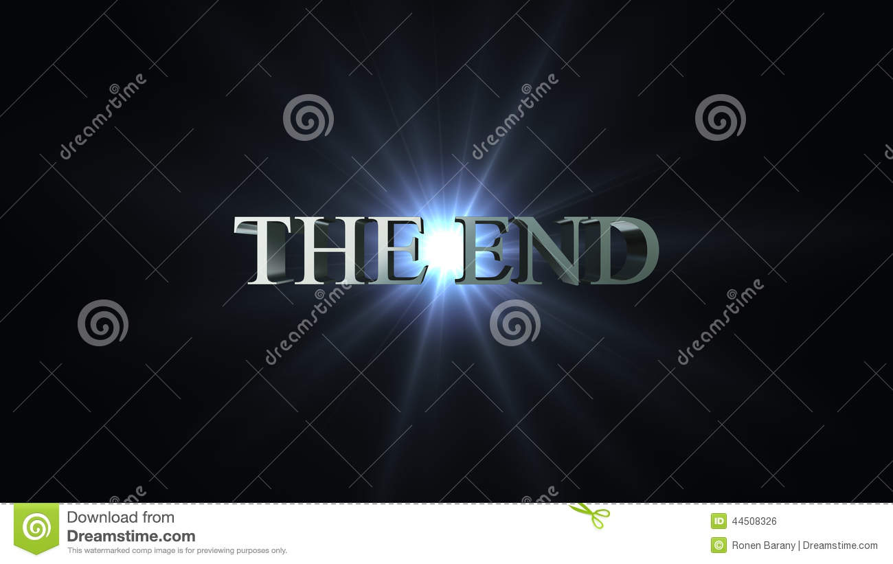 Alpha Blue Movie the end title stock footage. video of credits, alpha - 44508326