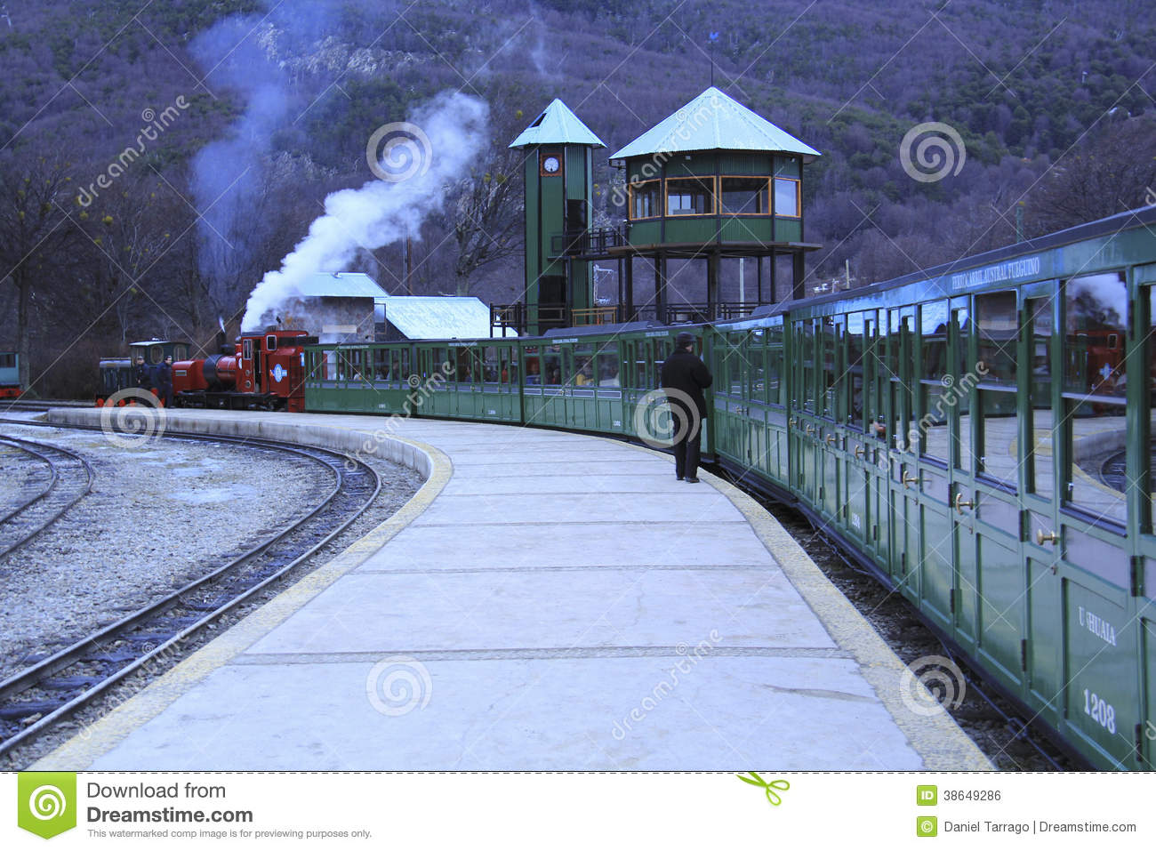 The end of the world train editorial photo. Image of ...