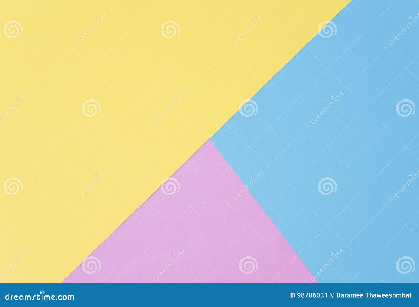 Endecha Plana, Colores En Colores Pastel De Papel Para La Textura ...
