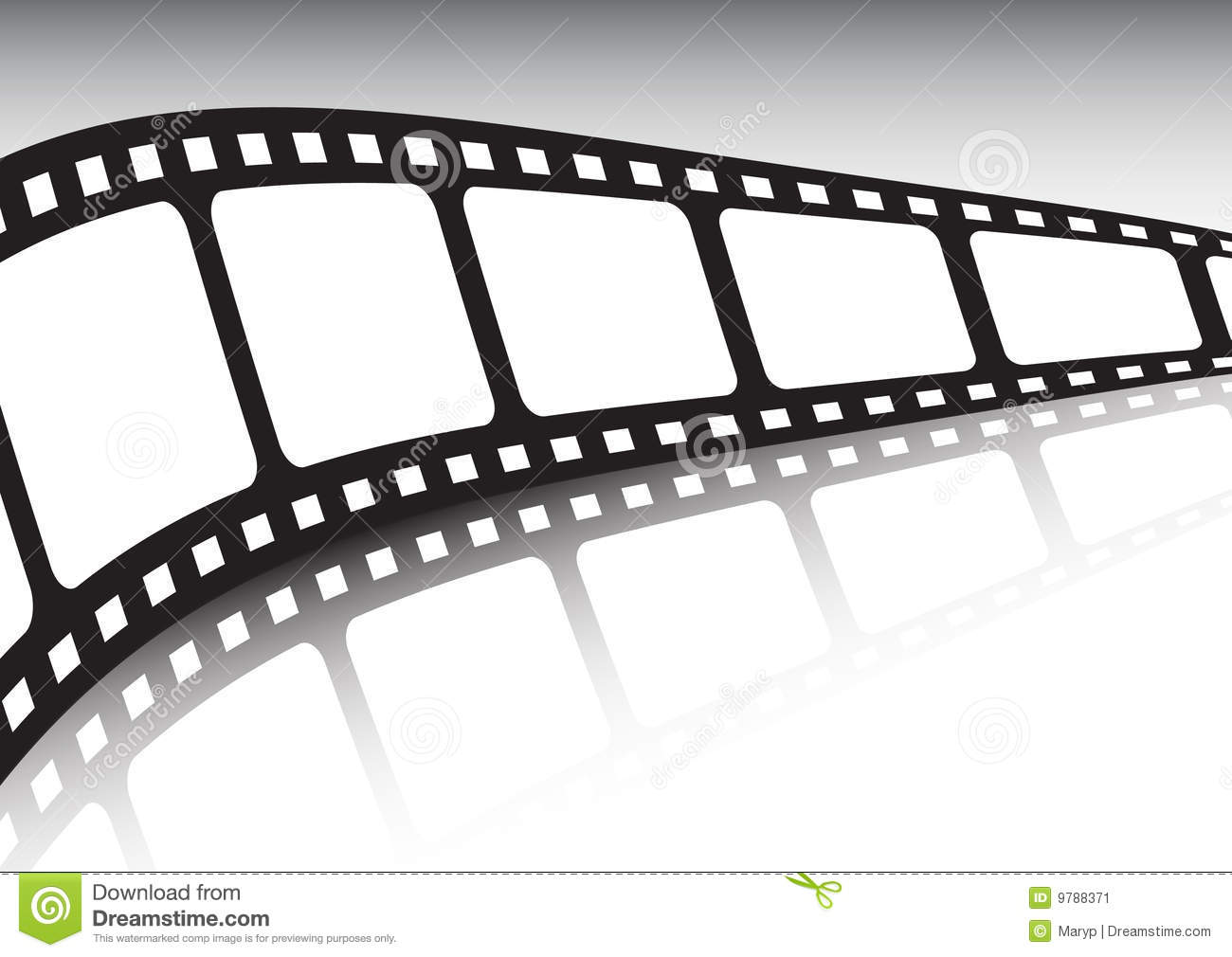 Endless Film Strip Vector Illustration Stock Image - Image: 9788371