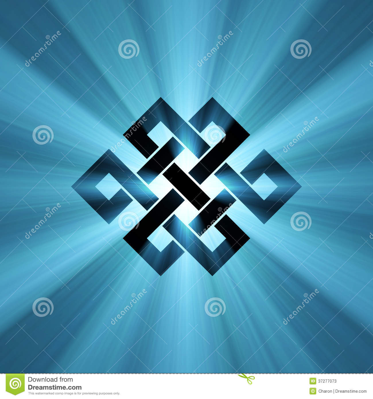 Endless knot (Eternal knot) is a cultural symbol across Buddhism ...