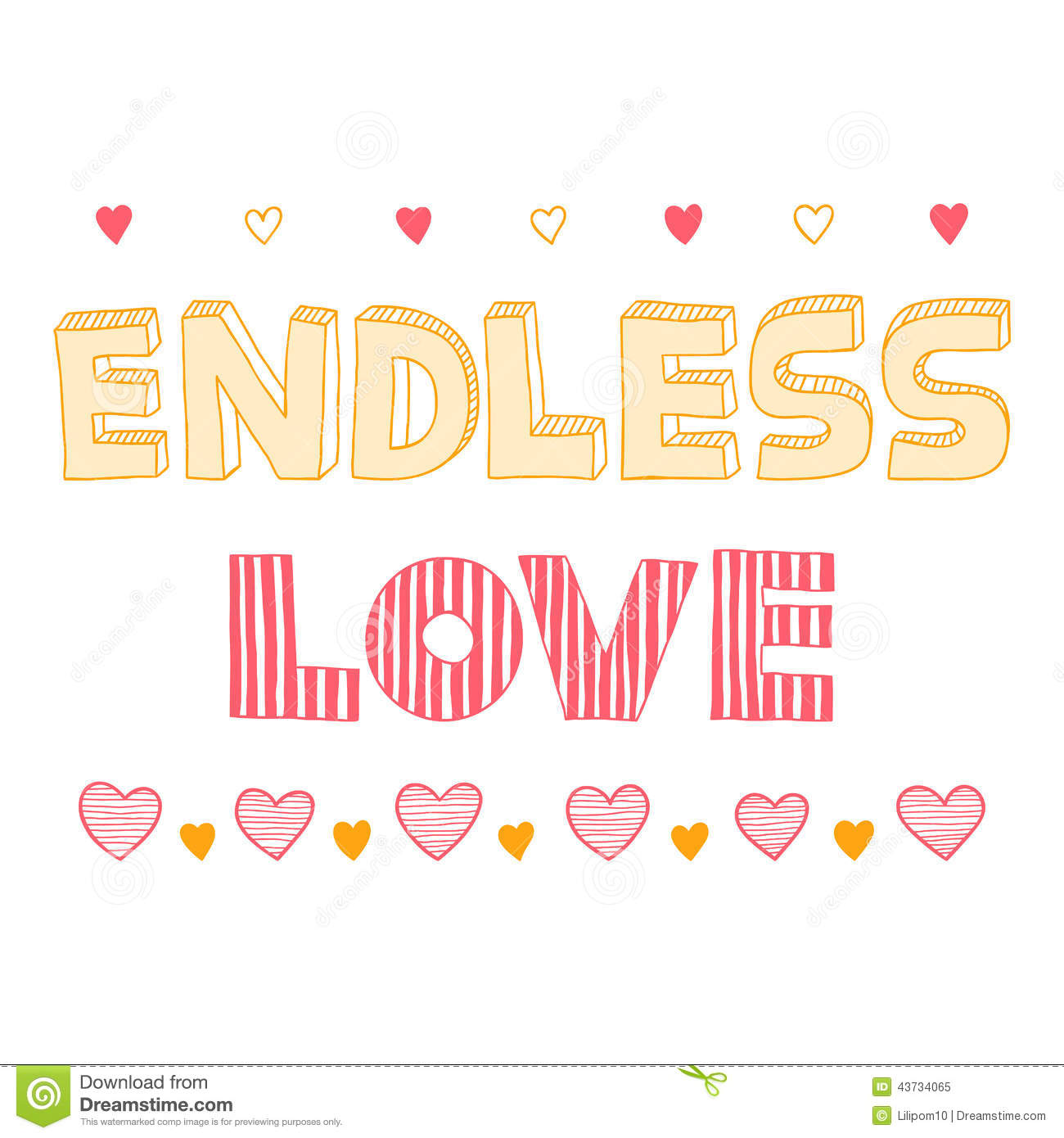 Endless Love, Quote, Inspirational Poster,