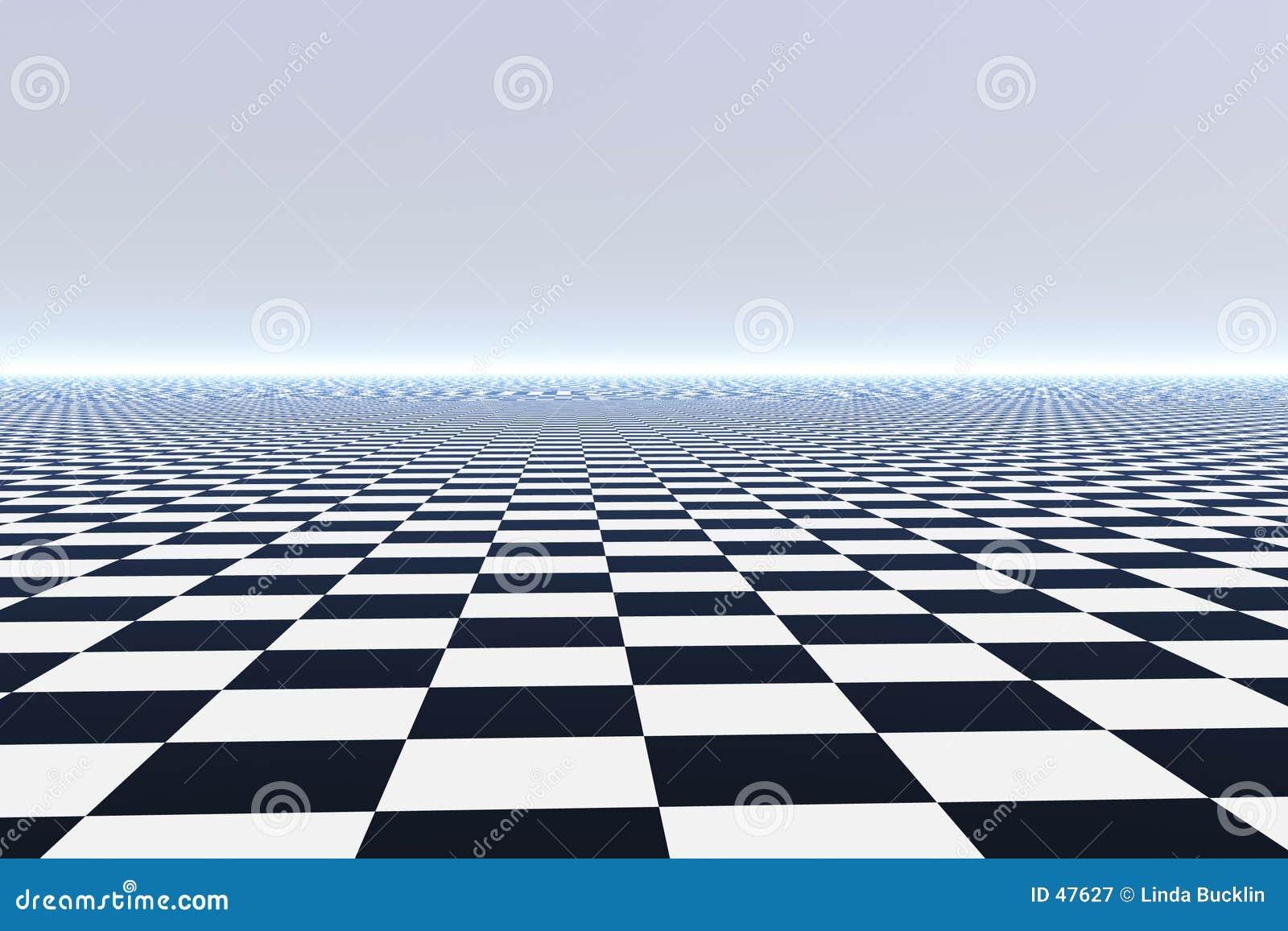 Endloser Fliese-Fußboden