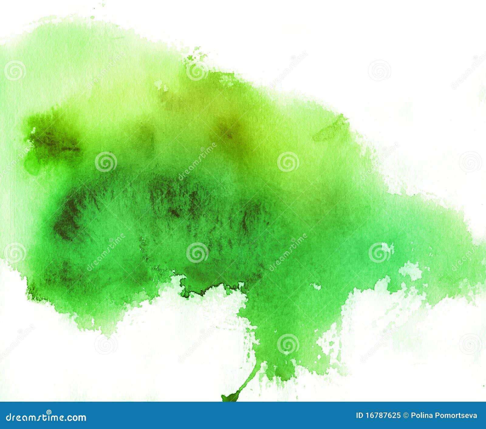 Pics photos watercolor splash background - Endroit Vert Fond D Aquarelle Photo Libre De Droits