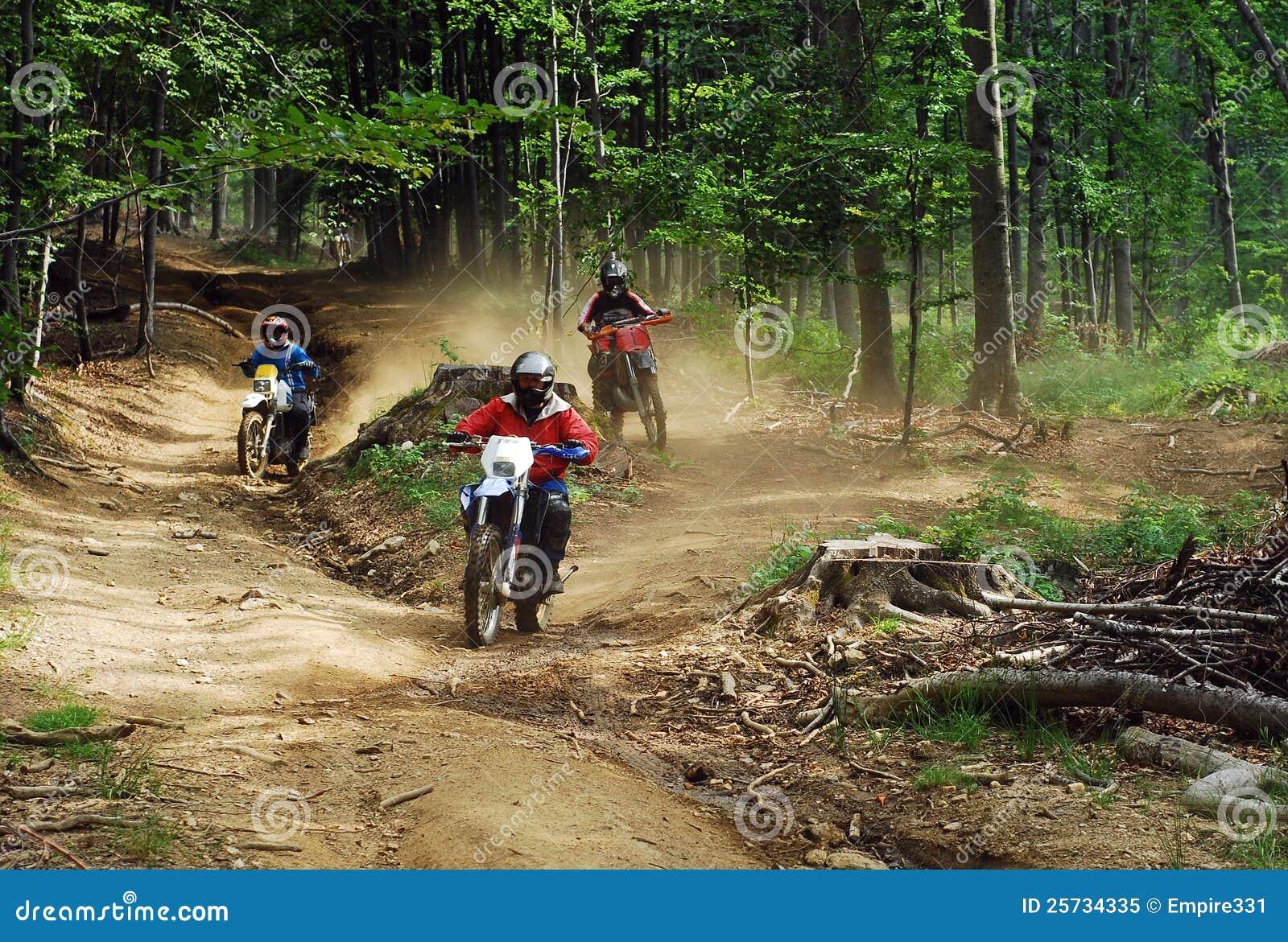Enduro riders