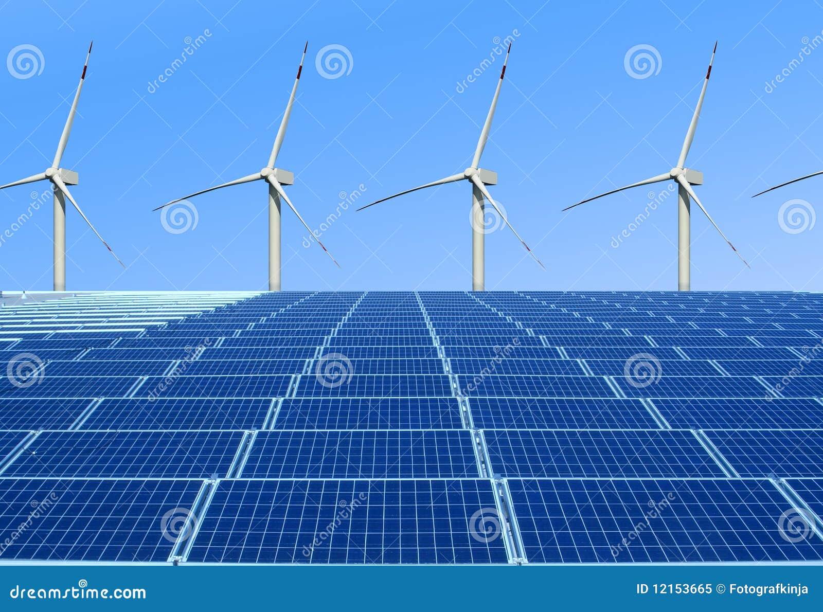 Energia a favor do meio ambiente e renovável