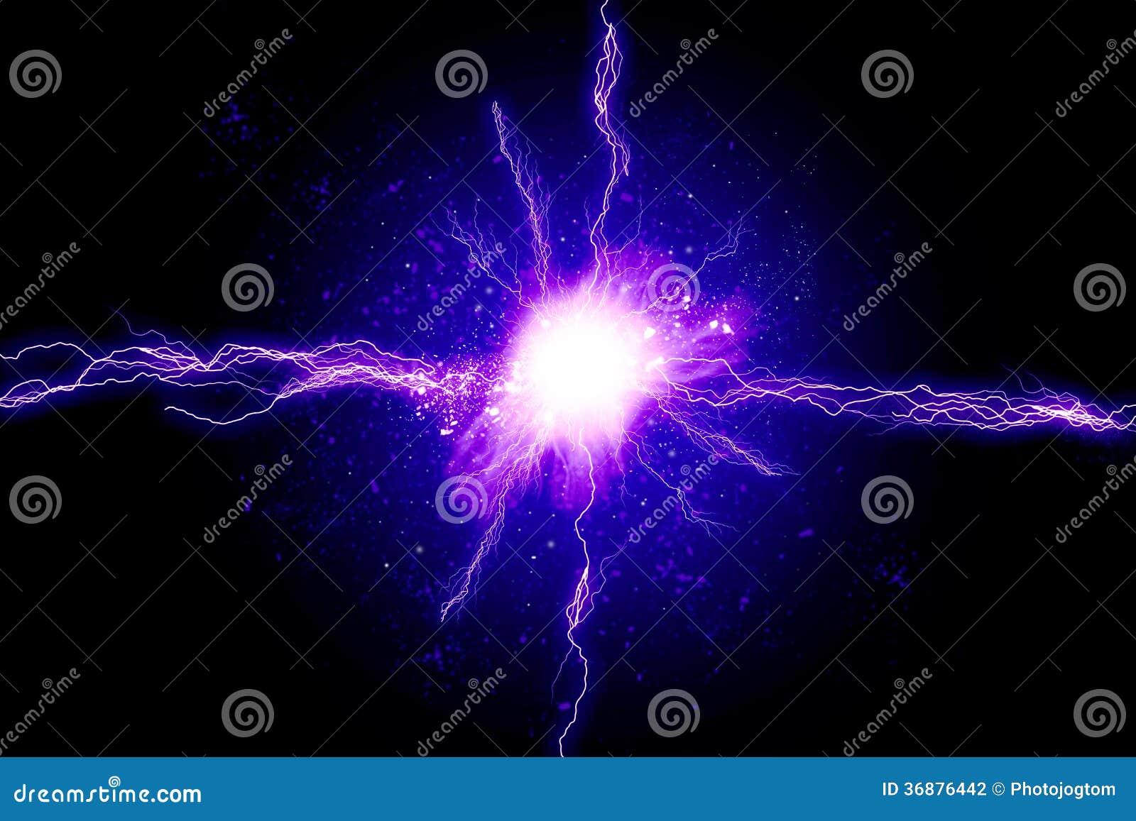Download Energia potente illustrazione di stock. Illustrazione di luminoso - 36876442