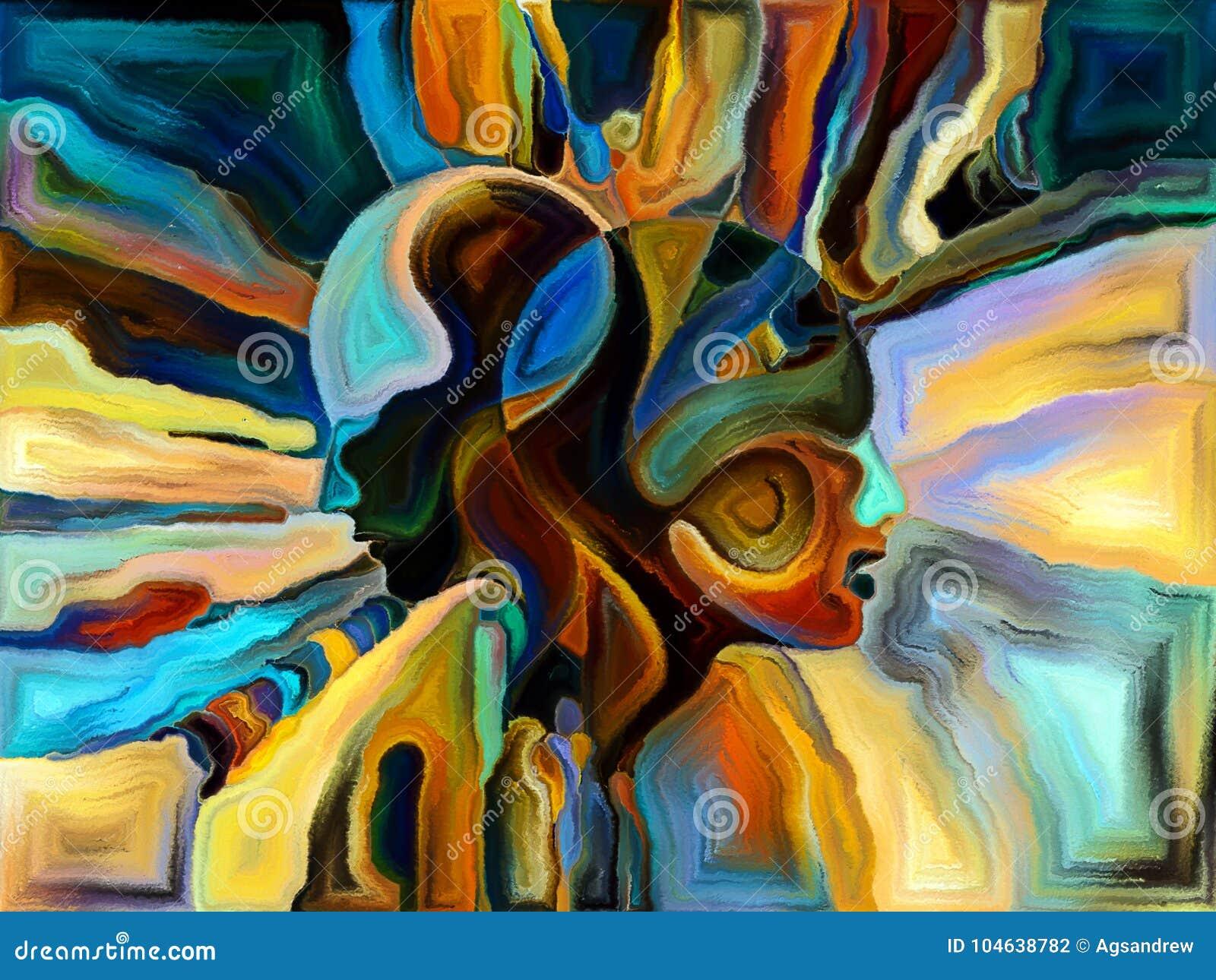 Download Energie van Vormafdeling stock illustratie. Illustratie bestaande uit concept - 104638782