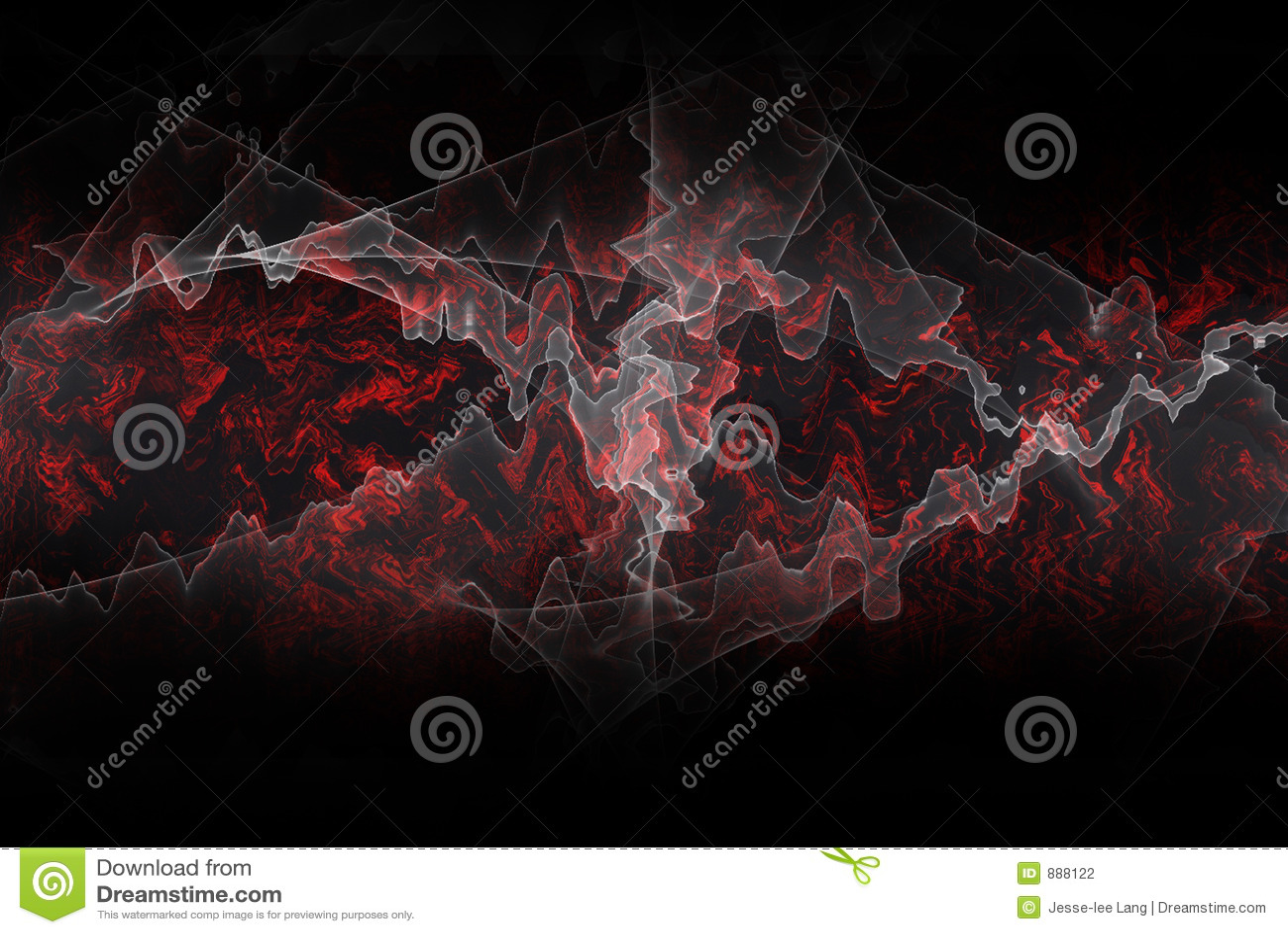 Energii fractal tło