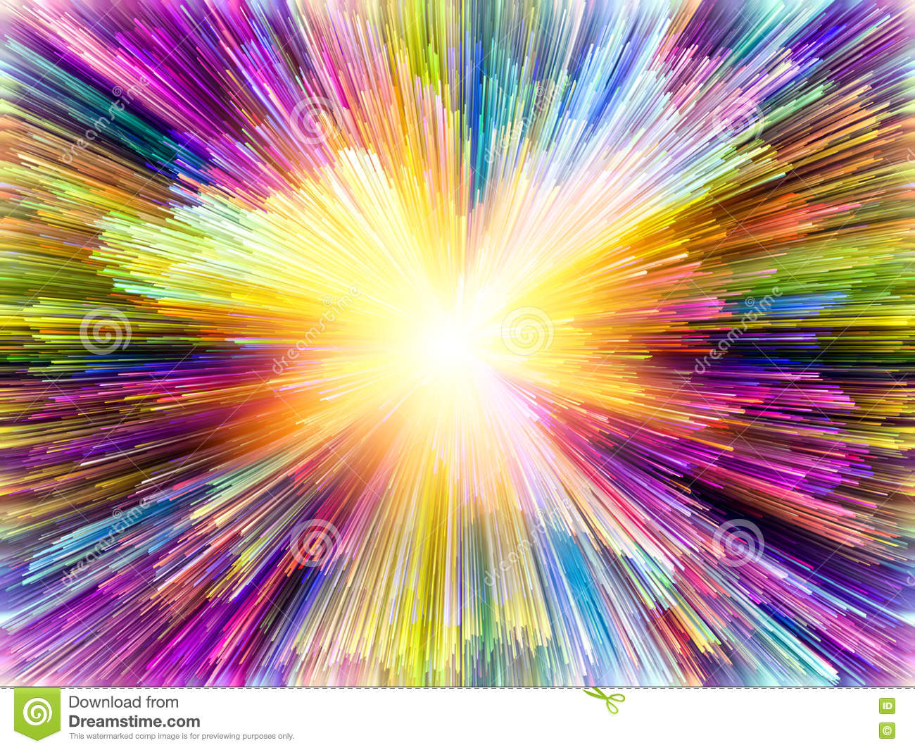 Energy Of Colors Stock Illustration - Image: 72475922
