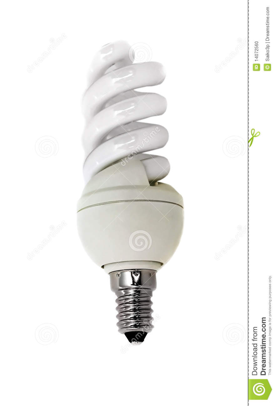 Energy Conscious Bulb Lamp Stock Photo Image Of Brightly