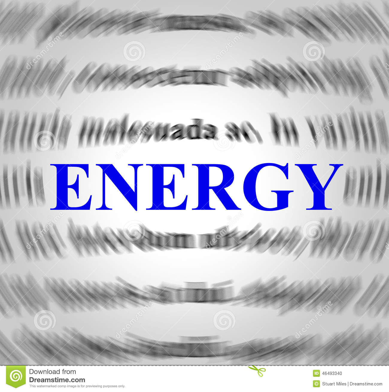 energy definition represents power source and powered stock
