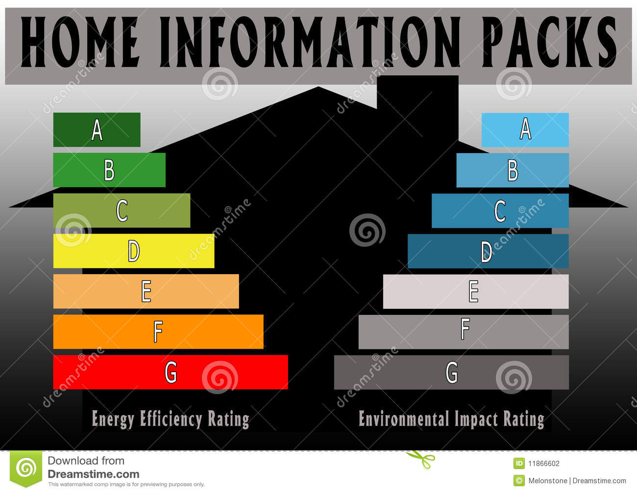 Energy efficiency home information pack stock photography for Energy conservation facts