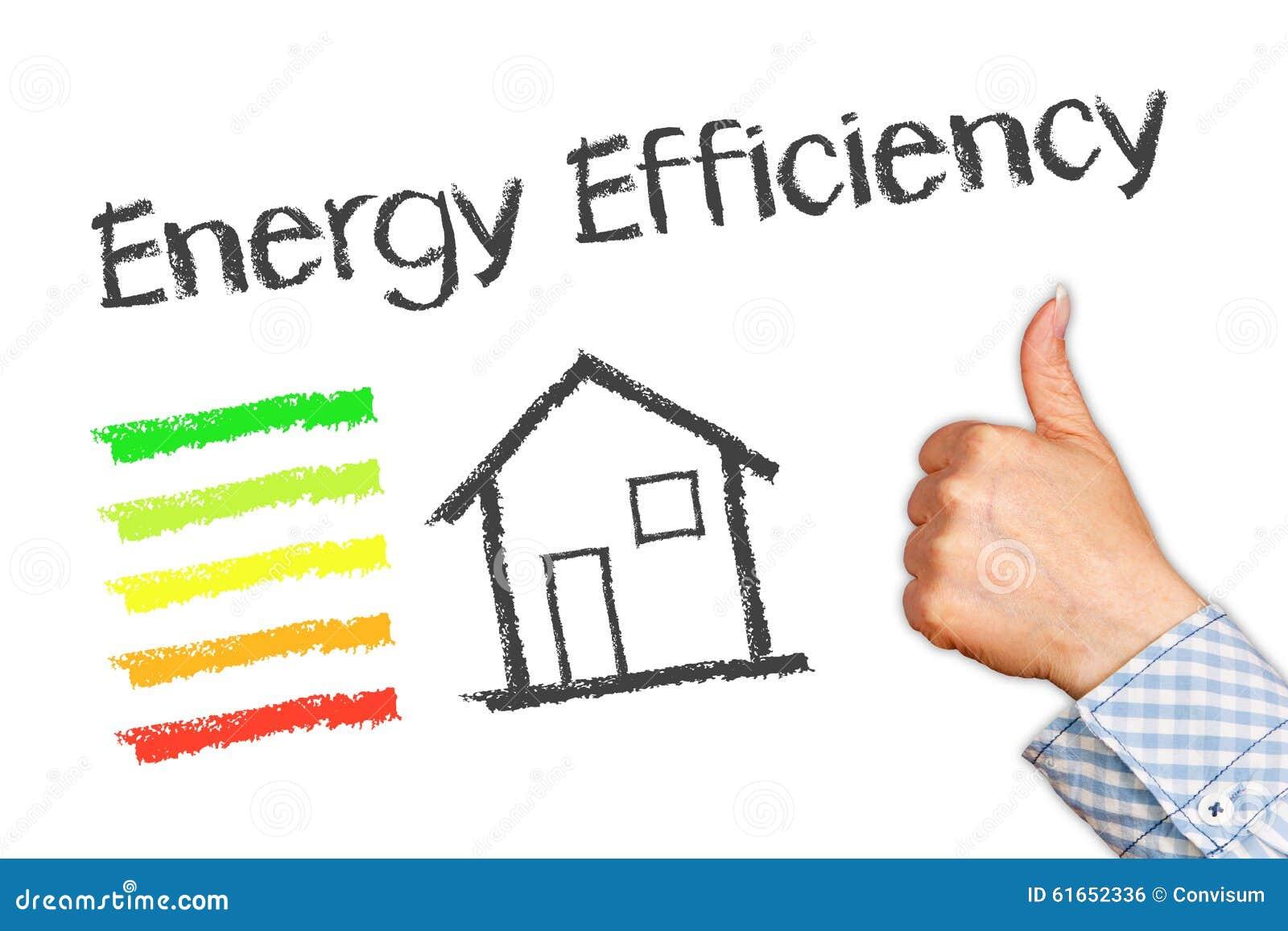 Energy efficiency illustration