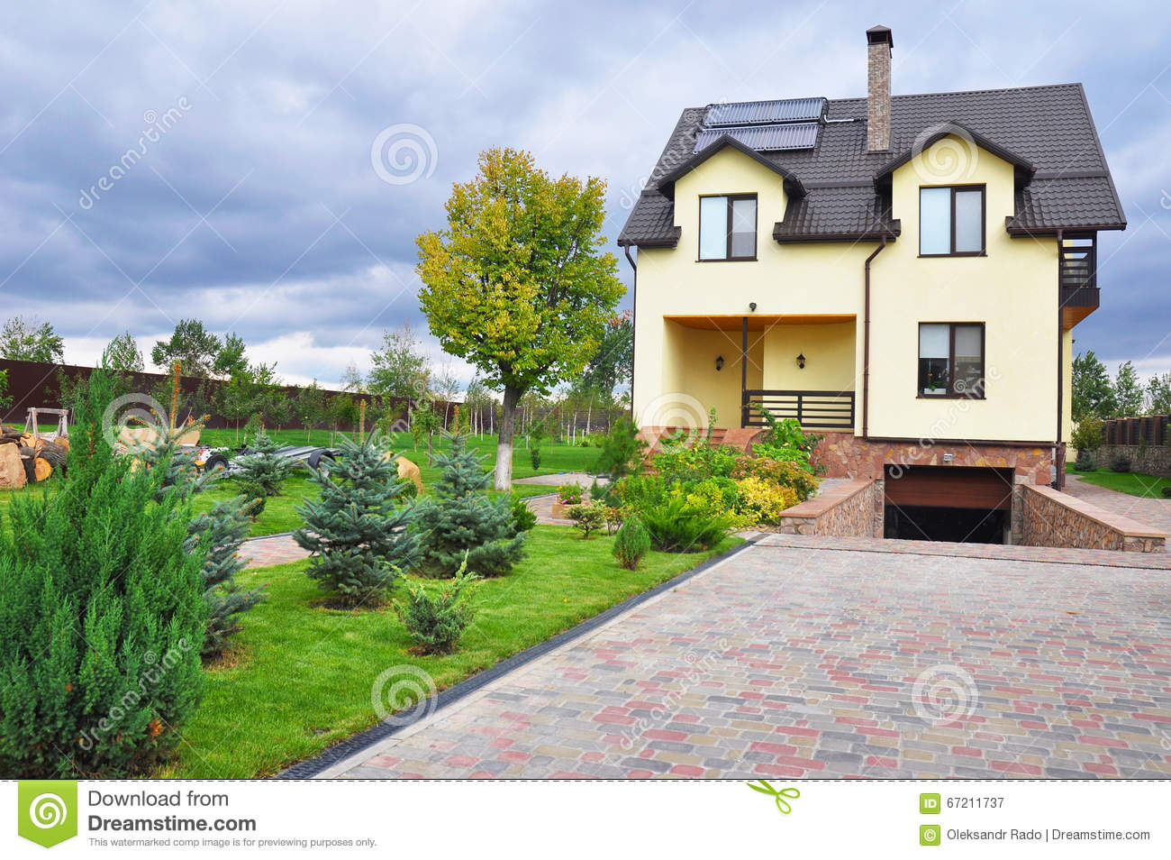 Concept of new energy stock photography cartoondealer for New concept homes