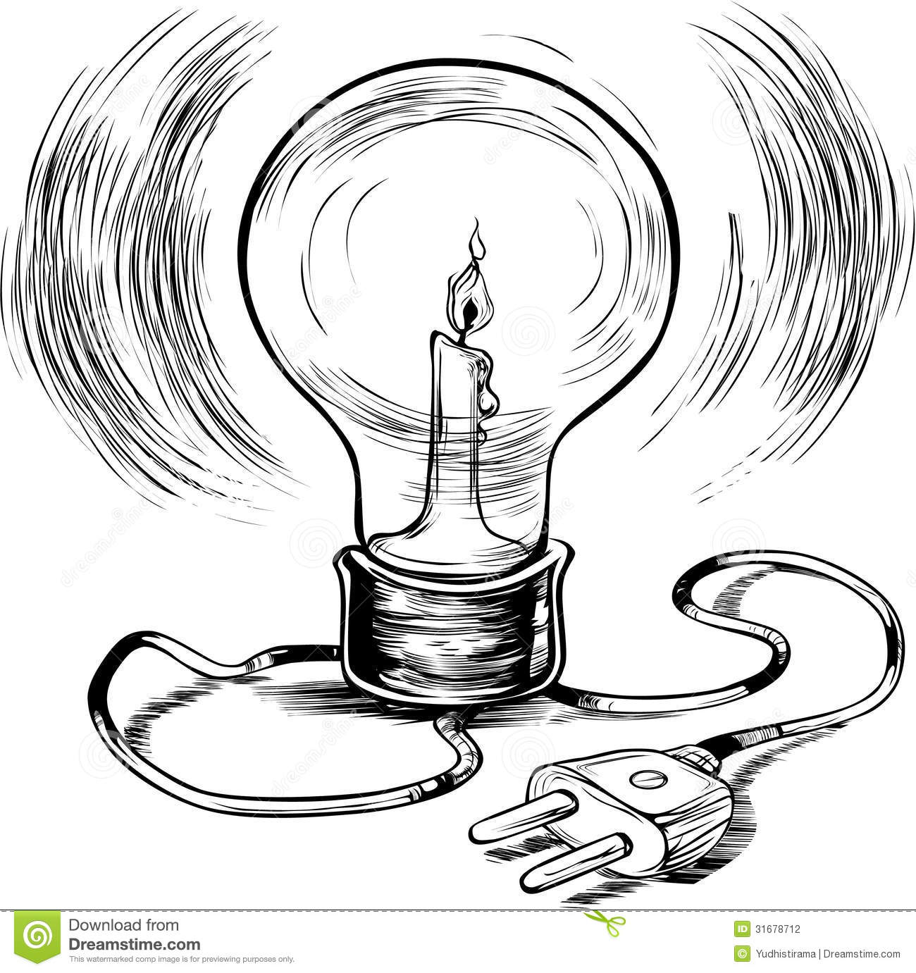 energy efficient burning electricity stock photography