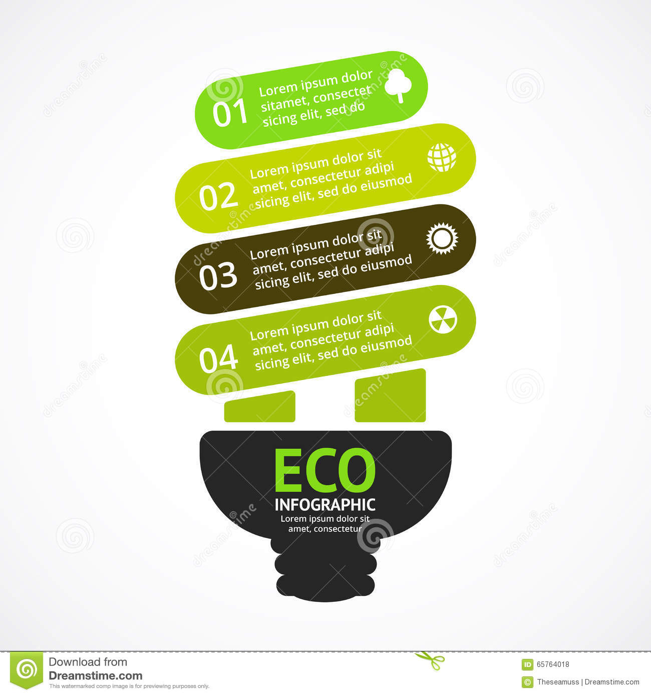 Energy Light Bulb Diagram Quick Start Guide Of Wiring Circuit Free Efficient Vector Arrows Green Eco Infographic Rh Dreamstime Com Flow