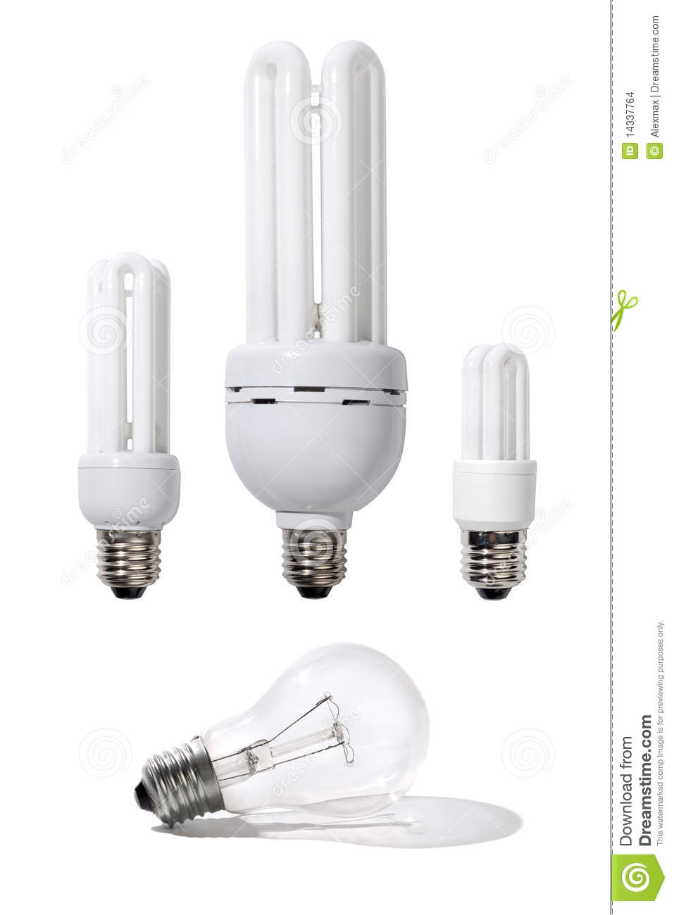 Energy Efficient Light Bulbs Stock Images Image 14337764