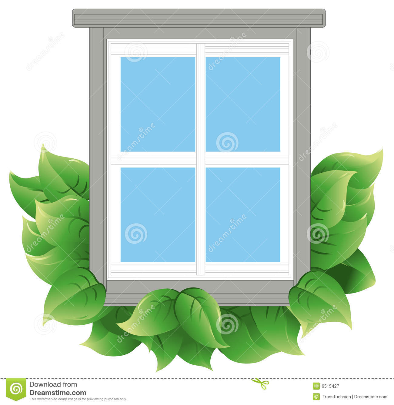 Energy efficient window stock vector illustration of conservation 9515427 - The basics about energy efficient windows ...