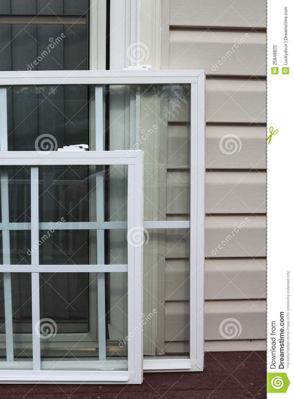 Energy Efficient Windows Stock Photo Image 25848820