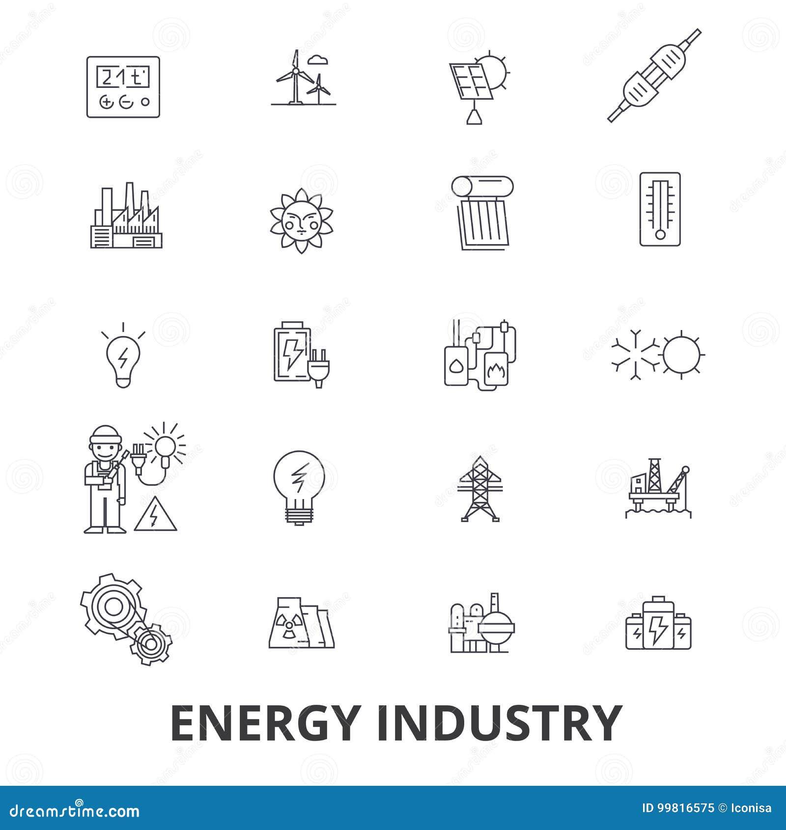 Energy Industry Oil And Gas Efficiency Saving Green Energy