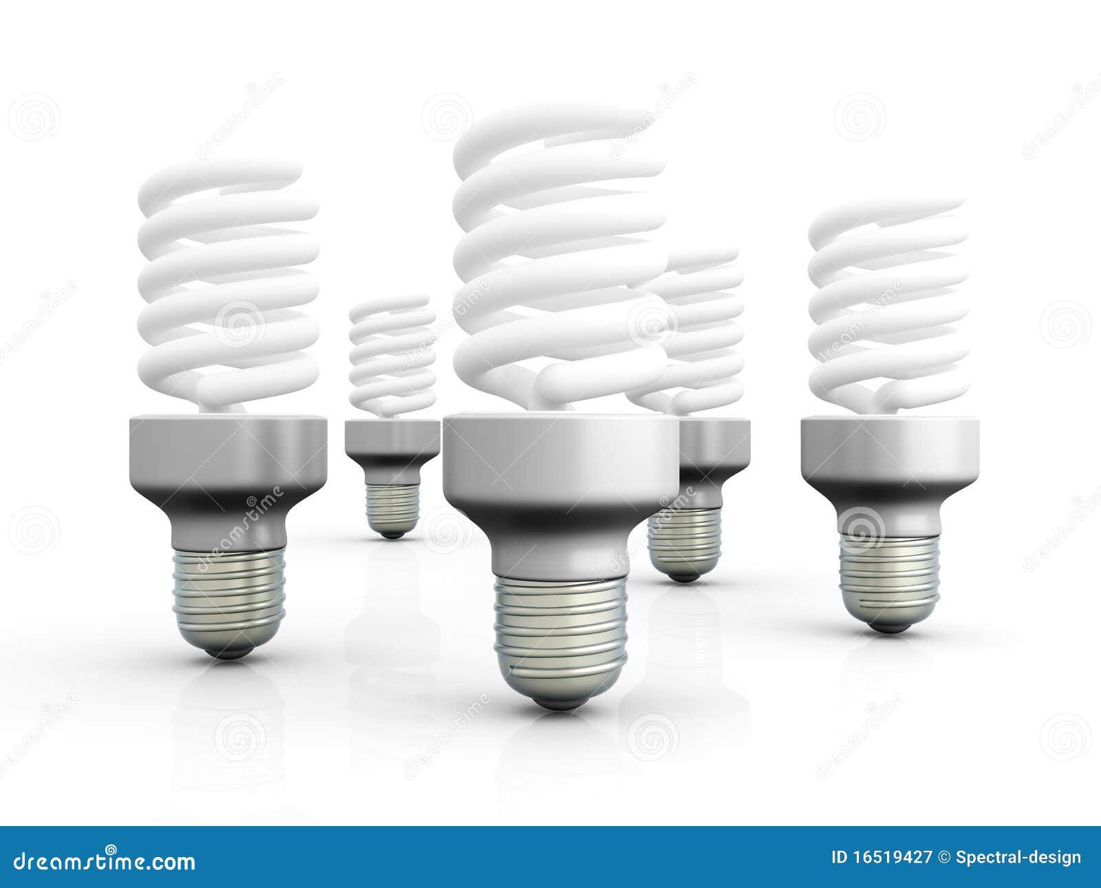 Energy Saver Light Bulbs Royalty Free Stock Photography Image 16519427