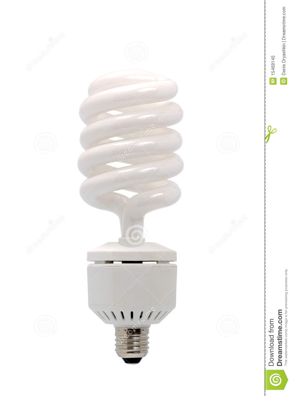 energy saving fluorescent light bulb royalty free stock photo image. Black Bedroom Furniture Sets. Home Design Ideas