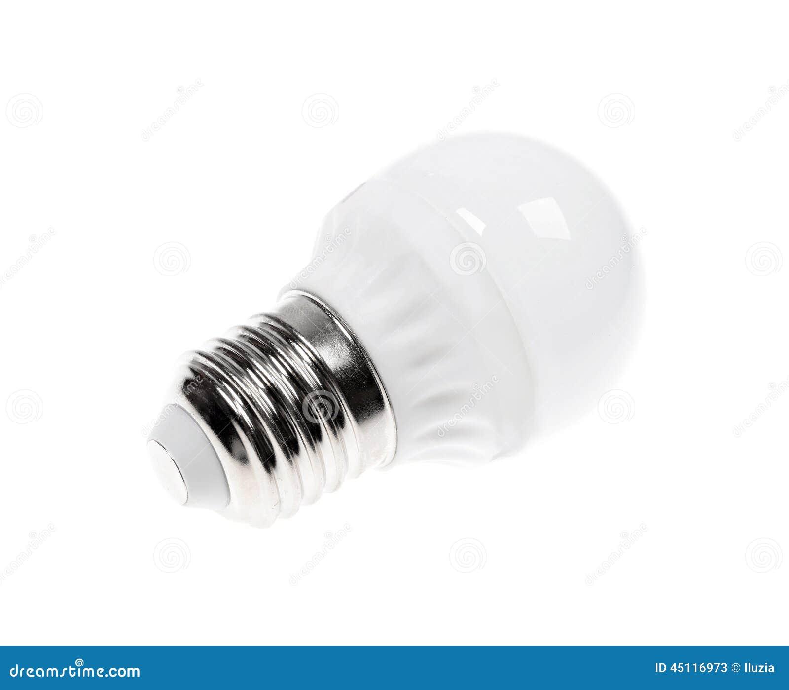Fluorescent Light Fixtures Energy Efficiency: Energy Saving Fluorescent Light Bulb Stock Photo