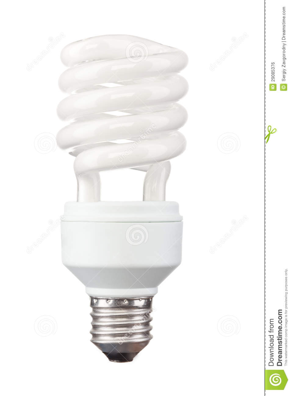 energy saving light bulb royalty free stock image image 29085376. Black Bedroom Furniture Sets. Home Design Ideas