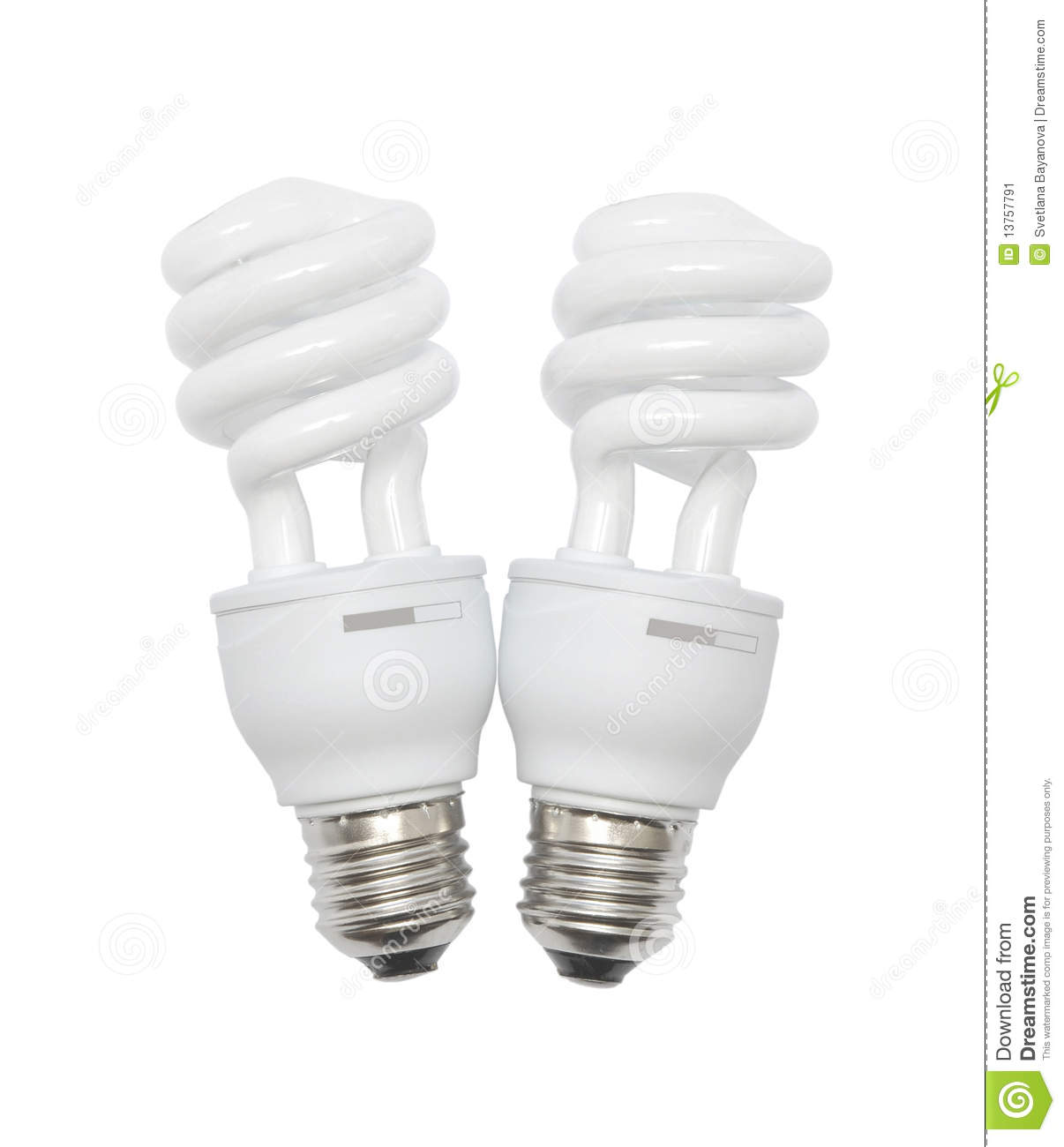 modern energy saving light bulbs isolated on white background. Black Bedroom Furniture Sets. Home Design Ideas