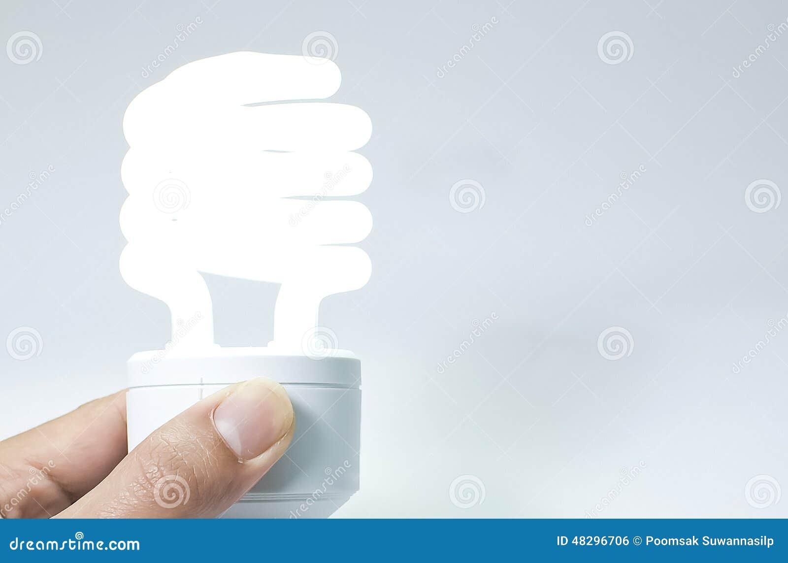 Energy Saving Light Bulbs Stock Photo Image 48296706