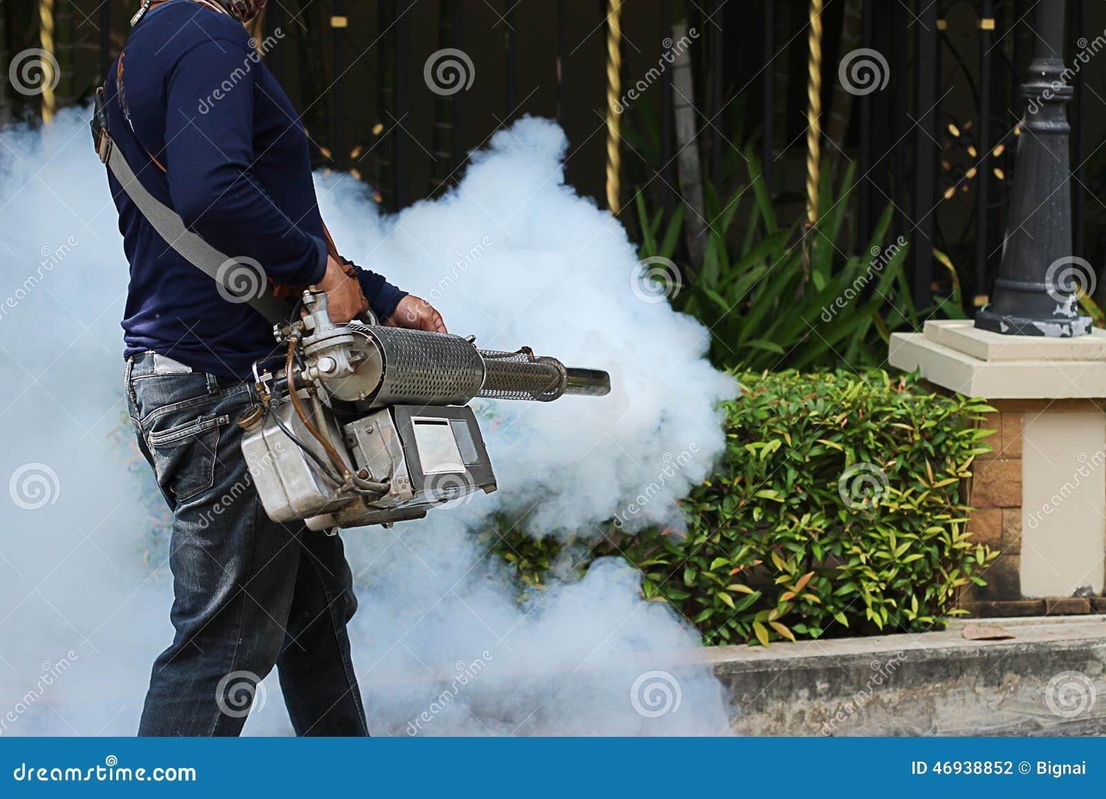 Enevoar-se para impedir a febre de dengue