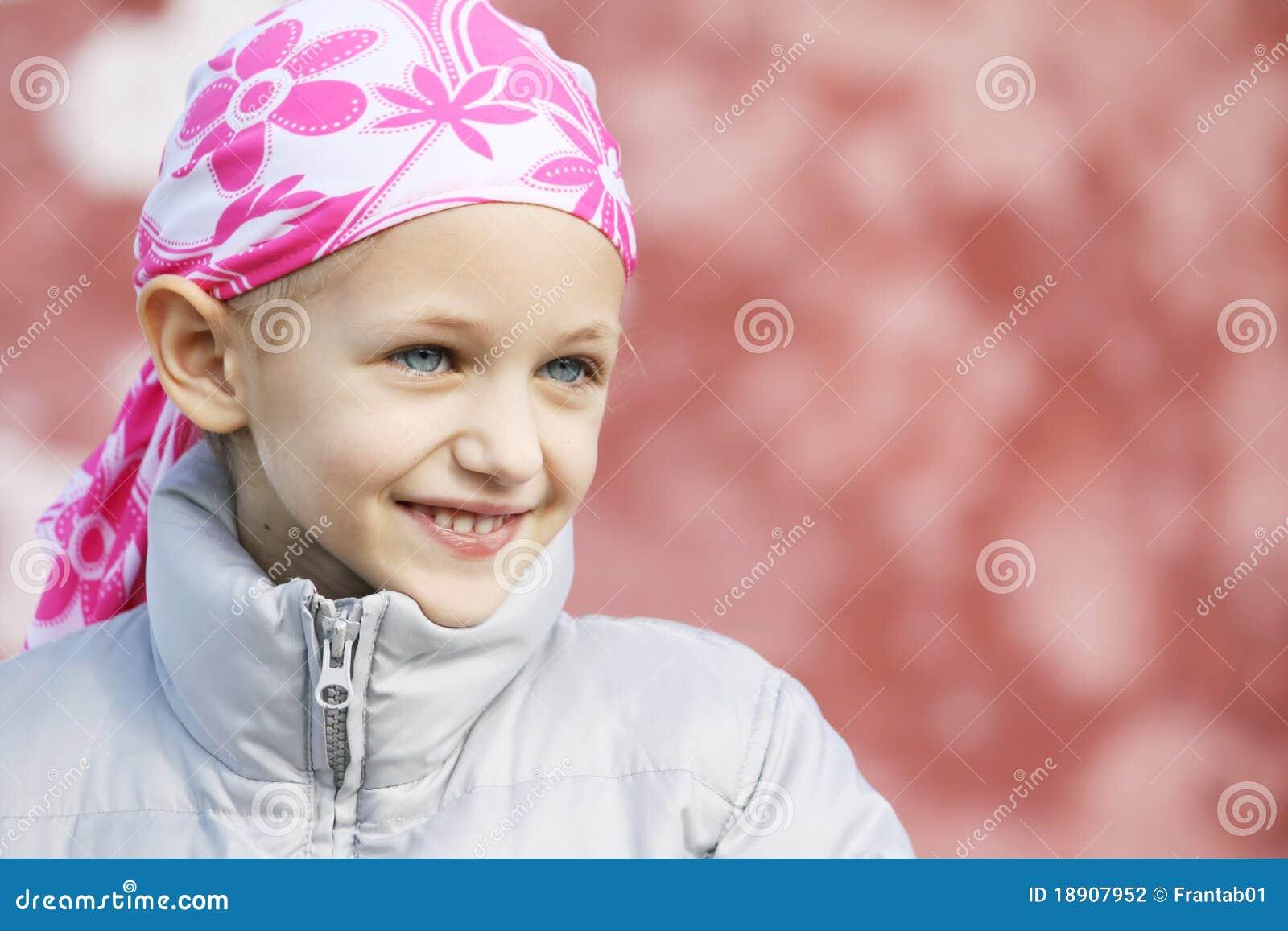 Enfant avec le cancer