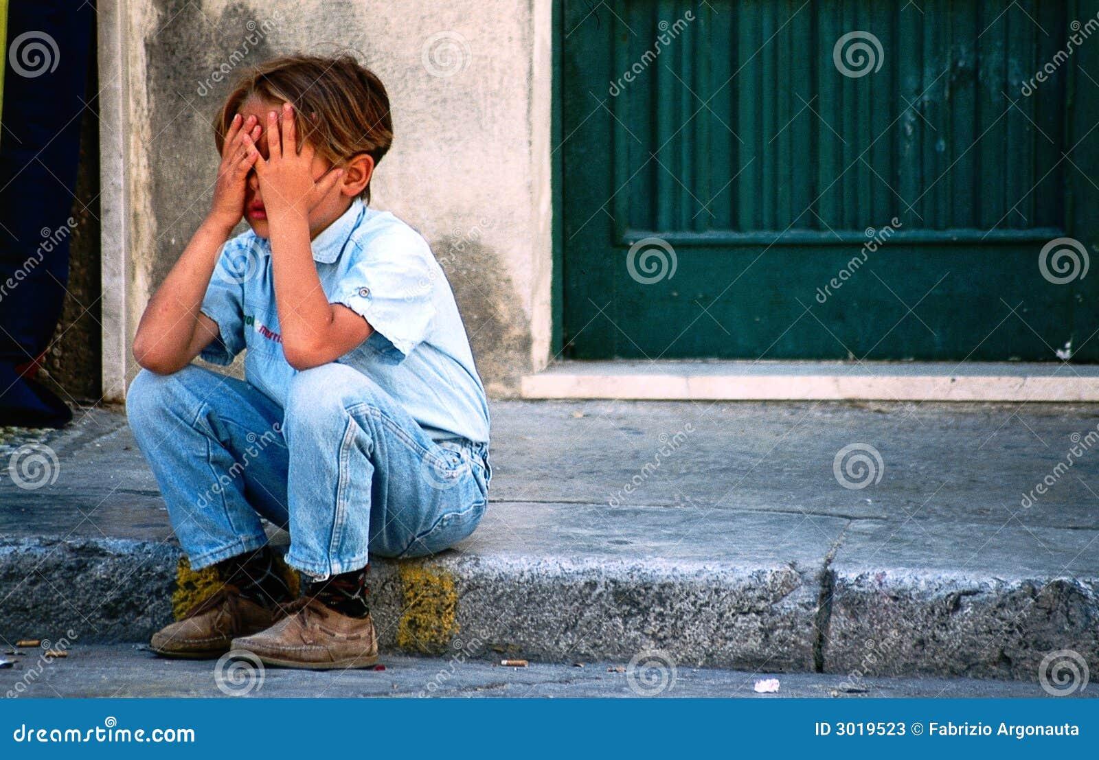 Enfant désespéré