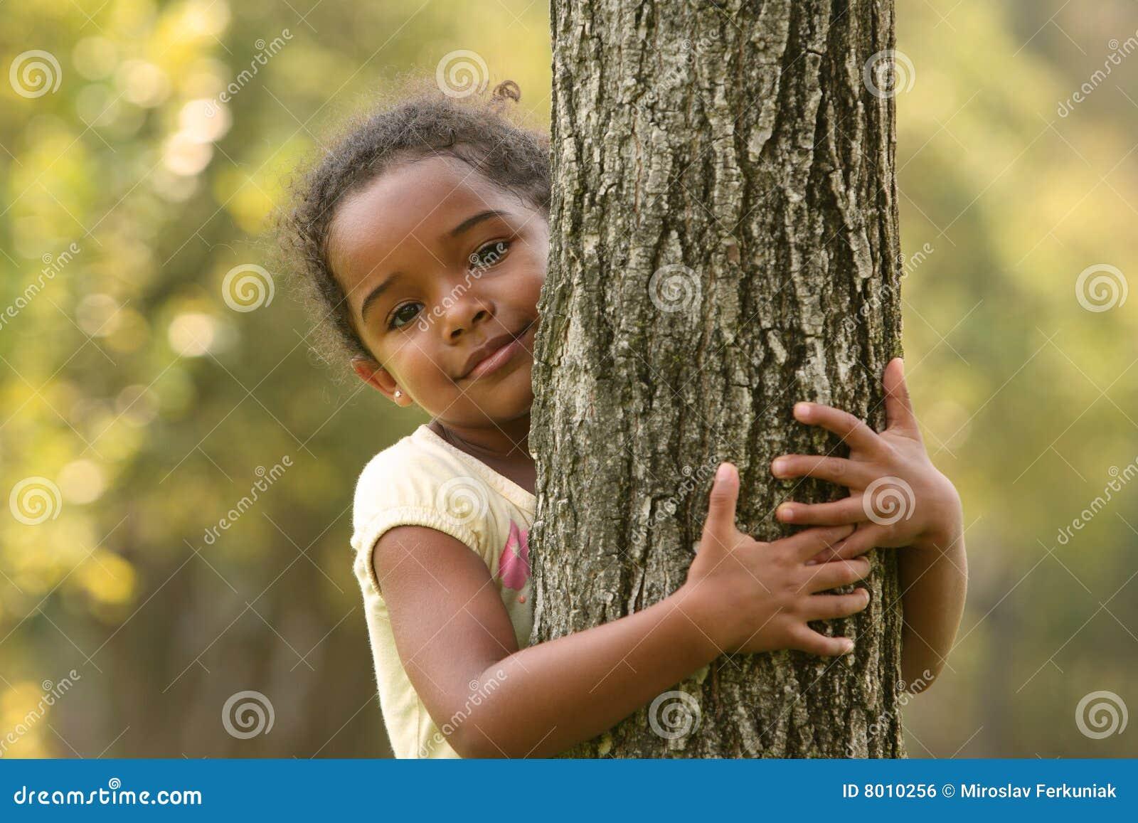 Enfant d Afro-américain