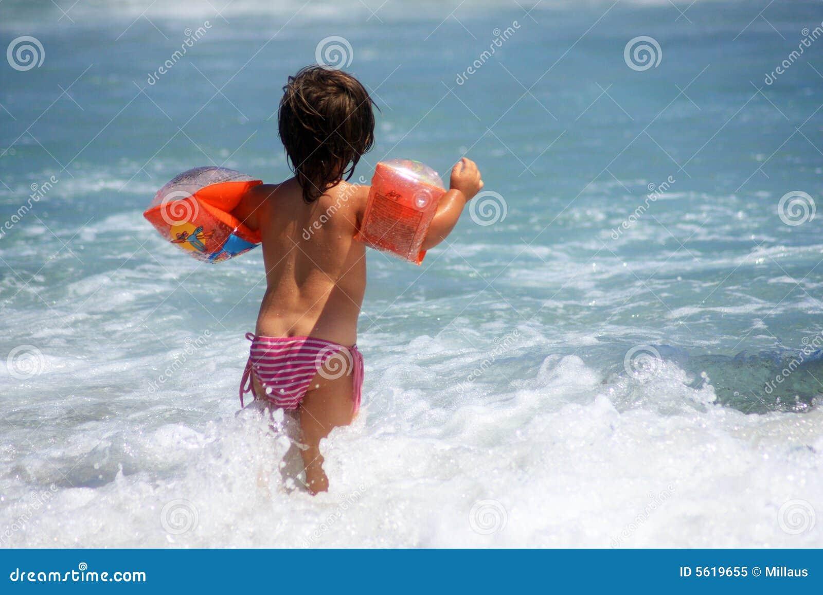 Enfant et mer