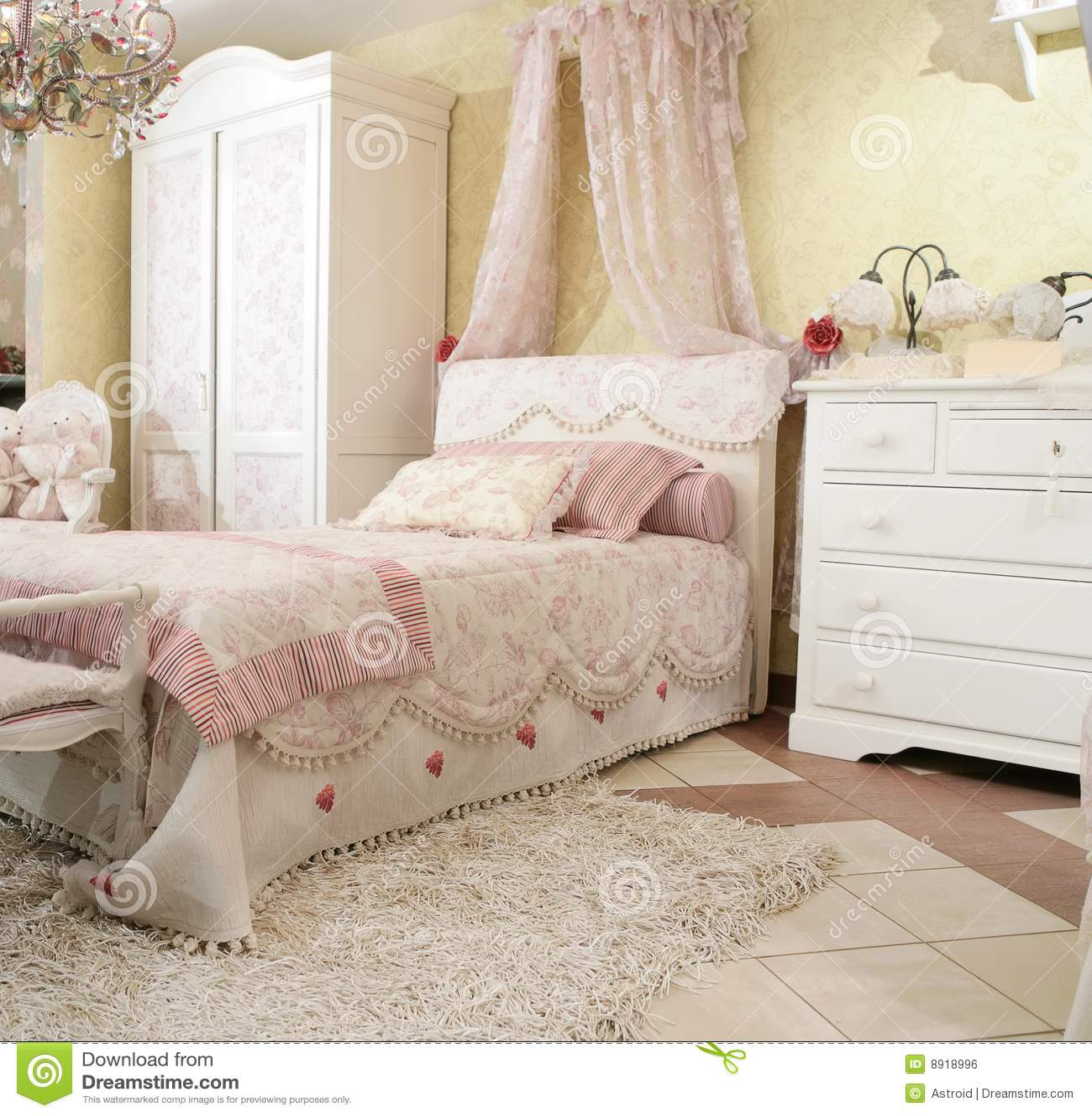 Enfant s de chambre à coucher image libre de droits   image: 8918996