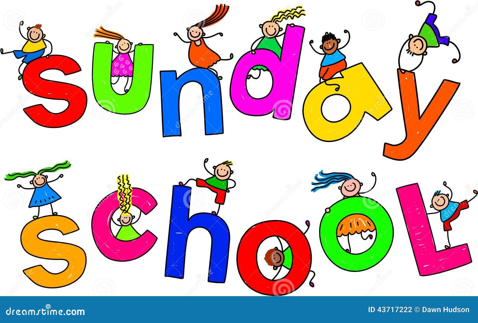Enfants d école du dimanche