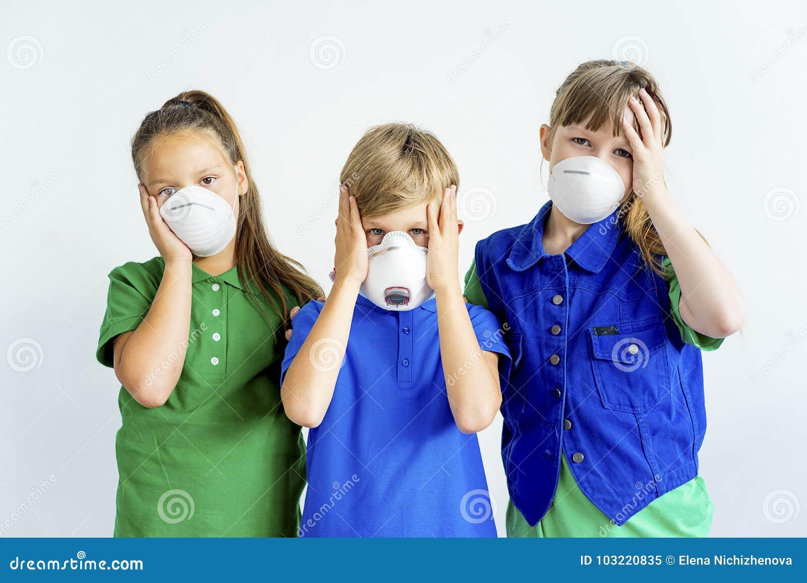 masques respiratoires enfant