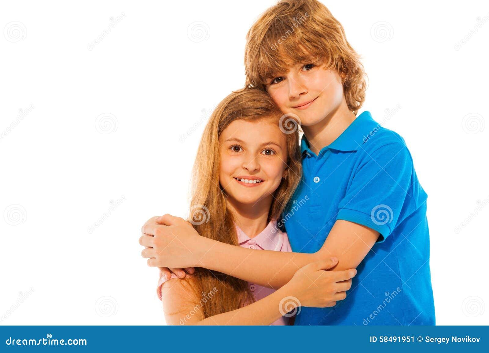 Jumeaux Fille Garçon : Enfants de mêmes parents jumeaux garçon et fille sur le