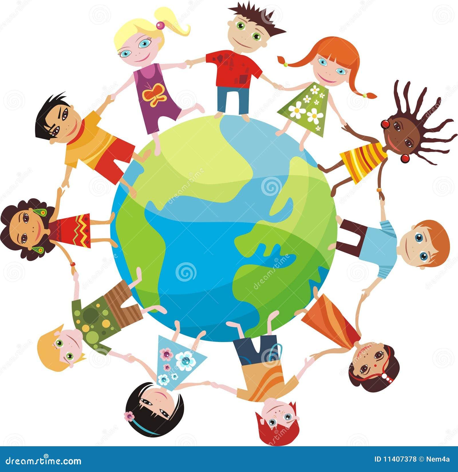 Souvent Enfants Du Monde Photos libres de droits - Image: 11407378 AS85